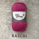 West Yorkshire Spinners Bo Peep yarn ball in Rascal