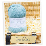 West Yorkshire Spinners Illustrious yarn ball in Sea Glass 303