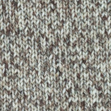 West Yorkshire Spinners The Croft DK shade Burrastow 812 - tweed yarn containing cream and brown shades