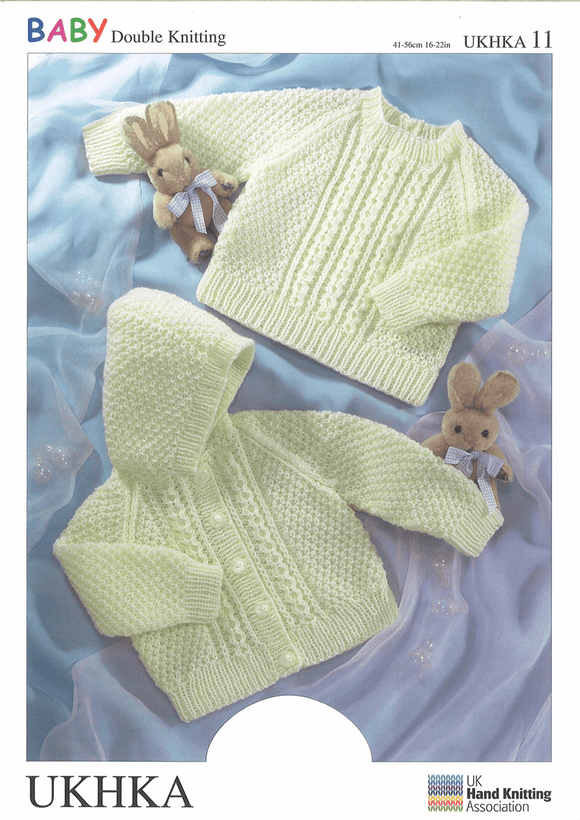 UKHKA Knitting Patterns for Babies & Children - 11