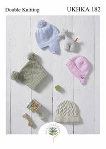 UKHKA Knitting Patterns for Babies & Children - 182