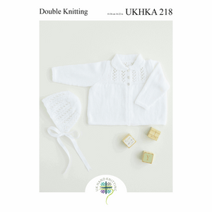 UKHKA Knitting Patterns for Babies - 218
