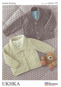 UKHKA Knitting Patterns for Babies & Children - 59
