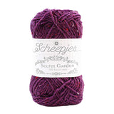 Scheepjes Secret Garden DK yarn ball in Wisteria Arch 733