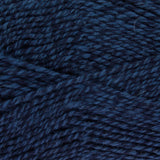 Navy blue and light blue yarn