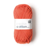 RICO CREATIVE COTTON ARAN