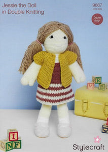 Stylecraft Pattern 9667 - Jessie the Doll Crochet Design