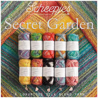 Scheepjes Secret Garden DK Yarn for Crochet and Knitting