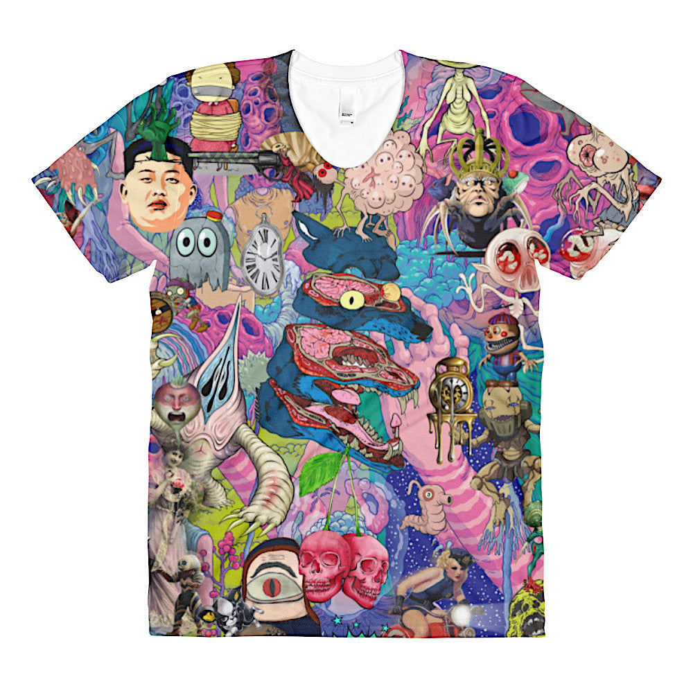 Colorful Art Shirt by Helt Sort
