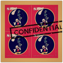 Confidential - pop art kunst fra Helt Sort Galleri