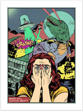 Crash! - pop art kunst fra Helt Sort Galleri