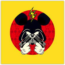 Darth Mouse - giclée kunstprint fra Helt Sort Galleri
