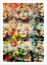 Marilyn Ecstasy - pop art kunst fra Helt Sort Galleri