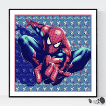 Spiderman - pop art kunst af Helt Sort