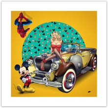 The Car Show popkunst - giclée kunstprint fra Helt Sort galleri