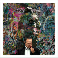 The Godfather - moderne pop art kunst fra online galleriet Helt Sort Galleri