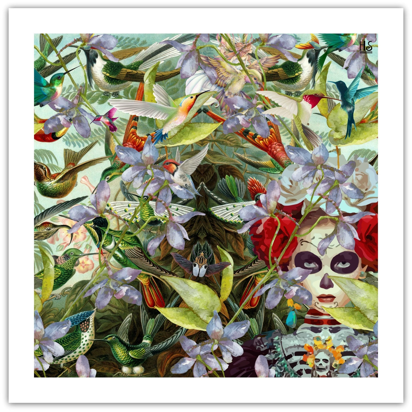 Day of the Dead - giclée kunsttryk