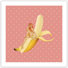 Amazing Banana - pop art kunst fra Helt Sort Galleri