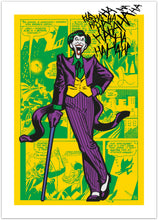 Laughing Joker - pop art fra Helt Sort Galleri