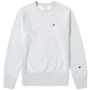 CHAMPION REVERSE WEAVE CLASSIC CREW SWEAT - GREY