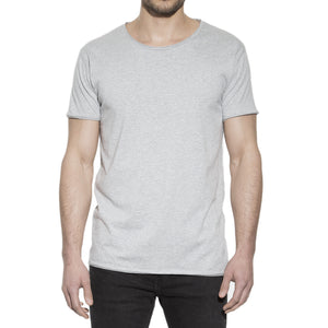 Crew Neck Relaxed t-shirt Grå Bread & Boxer