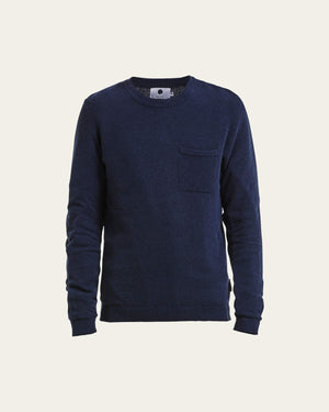 NN07 Herbie crew 6277 Knit Blue