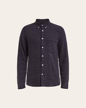 Falk 5068 Cotton Wool Shirt dark grey