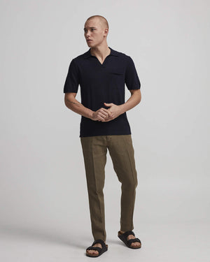 NN07 Ryan 6311 Knit Polo Navy Blå