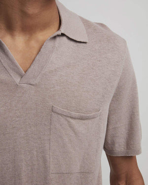 NN07 Ryan 6311 Knit Polo dusty rose