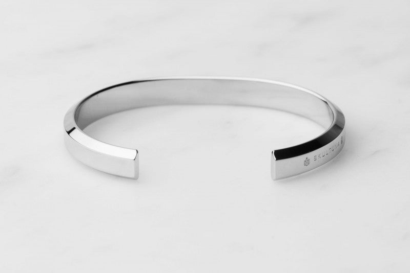 Skultuna Icon cuff polished steel