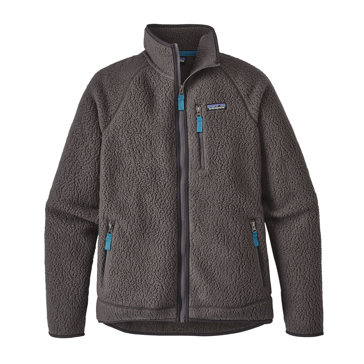 Patagonia Men's Retro Pile Fleece Jacket Forge Grey