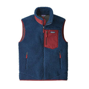 Patagonia Men's Classic Retro-X Fleece Vest Stone Blue