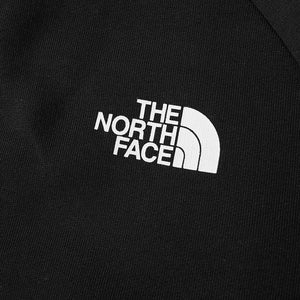 The North Face Raglan red box hoodie