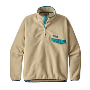 Patagonia Men's Lightweight Synchilla Snap-T Fleece Pullover El Cap Khaki