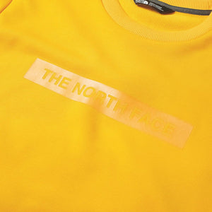 The North Face light crew sweat zinnia orange