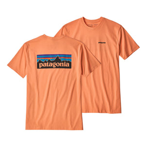 Patagonia Men's P-6 Logo Responsibili t-shirt orange