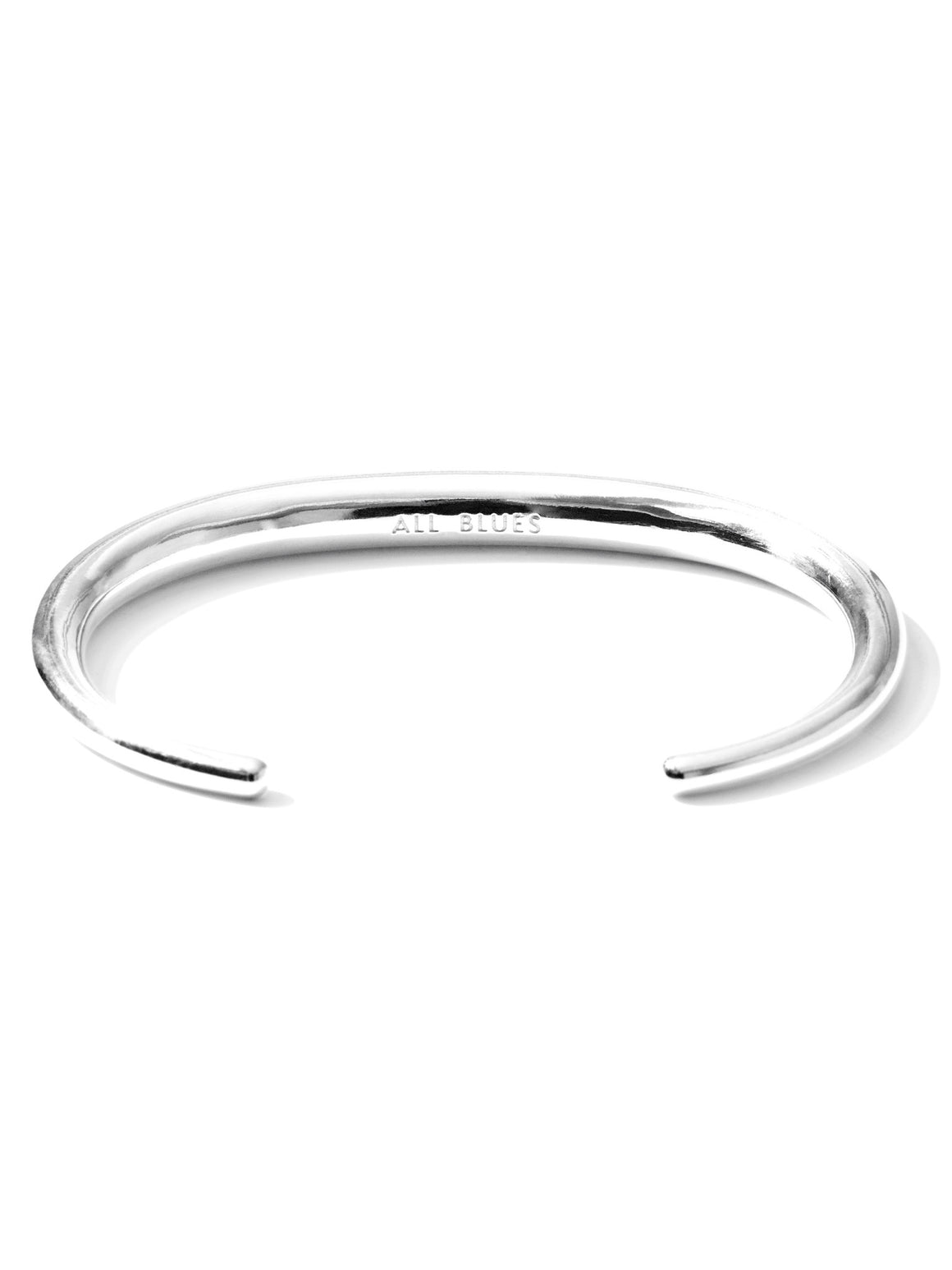 Fat Snake bracelet polished silver Armband All Blues