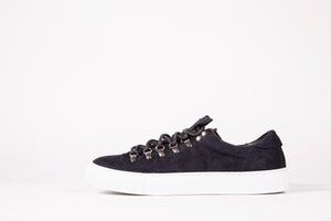 Marostica low anthracite black Diemme sko