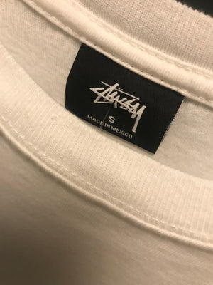 Stüssy long sleeve tee off white Camo
