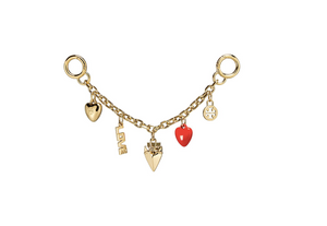 HEART CHAIN KEY FOB