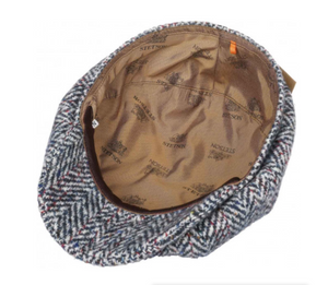 Stetson Gubbkeps Hatteras Historical Sixties Flat Cap