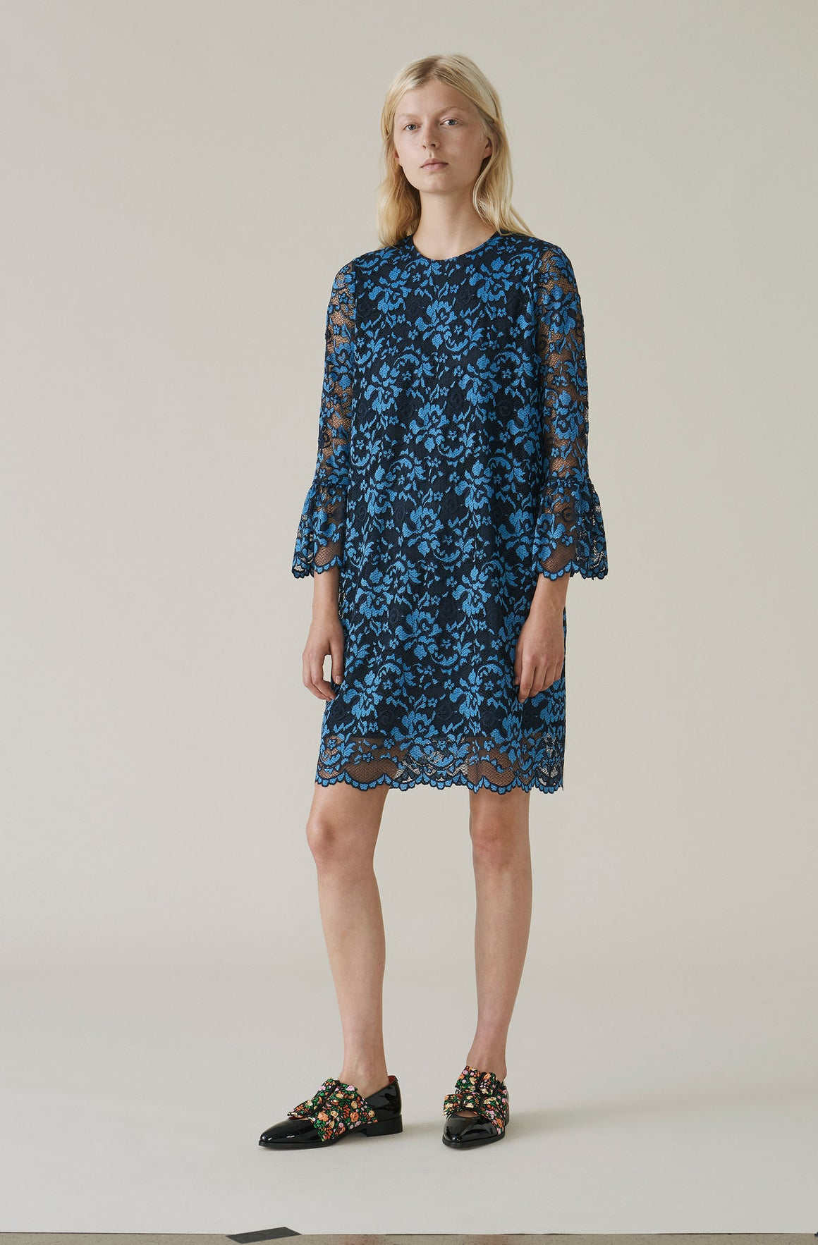 Ganni Flynn Lace Dress T1943