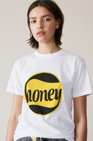 Ganni Harway T-shirt, Honey