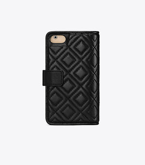 Tory Burch Fleming folio case black
