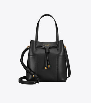 Tory Burch Block T small bucket bag