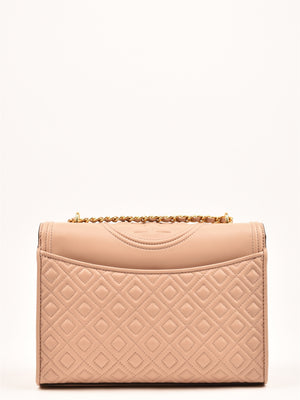 FLEMING CONVERTIBLE SHOULDER Bag mink Tory Burch