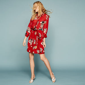 FWSS - NOT DEAD DRESS  RED BLOOM