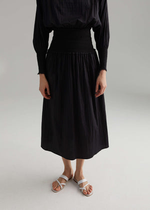 Toteme Safara skirt black