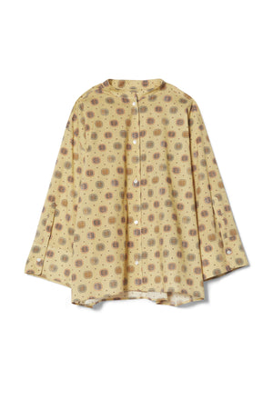 Toteme Zahora blouse yellow print
