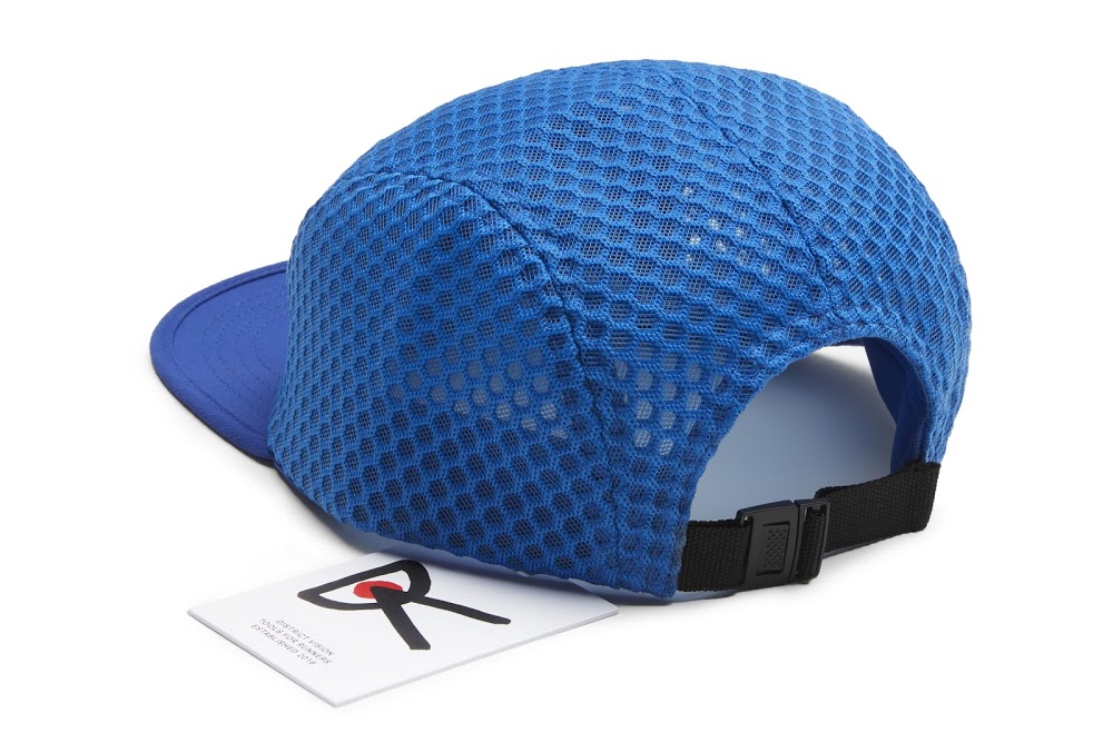 District Vision TRENTON Mesh Cap Blue